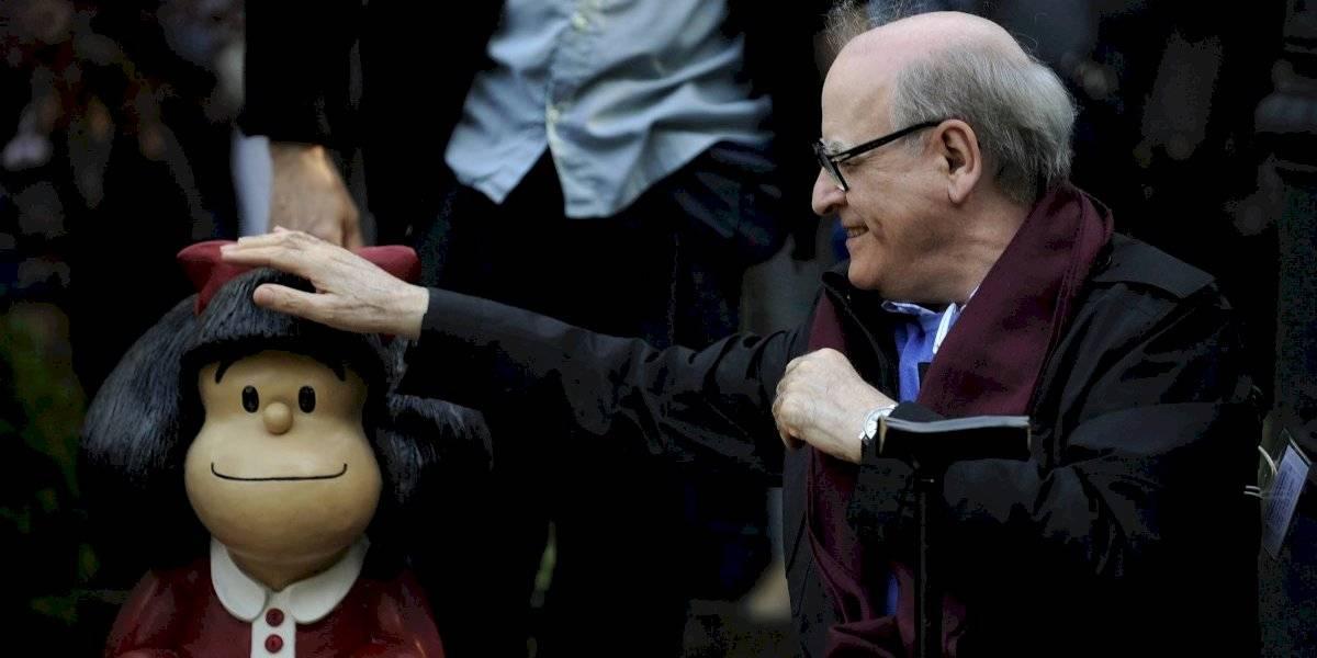 Fallece a los 88 años Quino: el creador de Mafalda