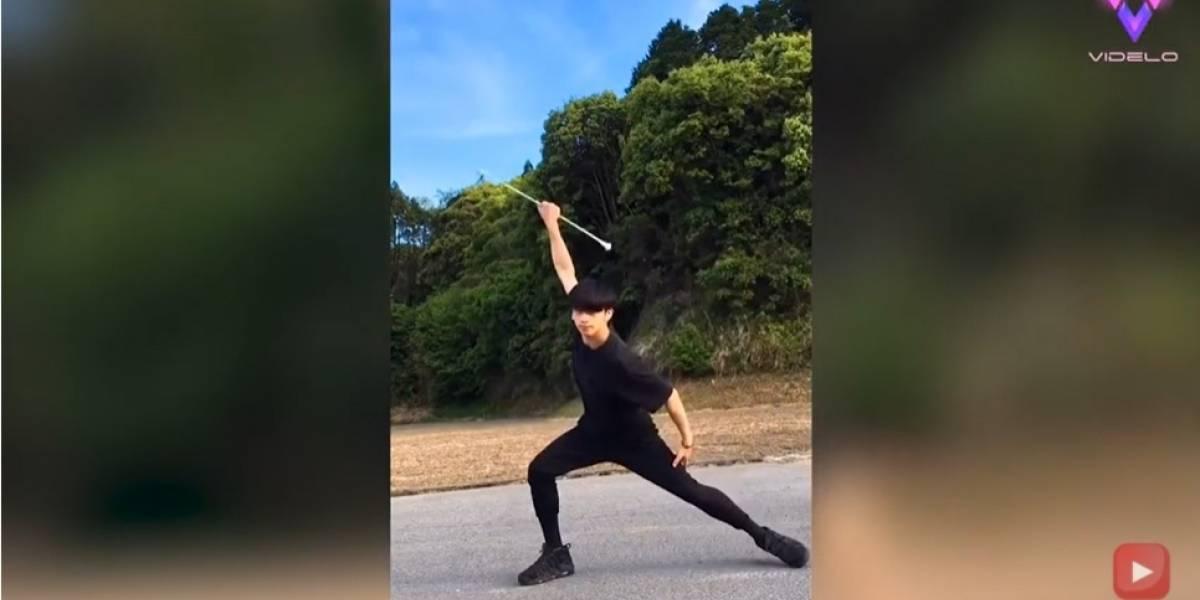 Desconecta.- ¿Conoces el twirling? Esta disciplina deportiva combina danza, agilidad y coordinación mientras se gira un bastón o más