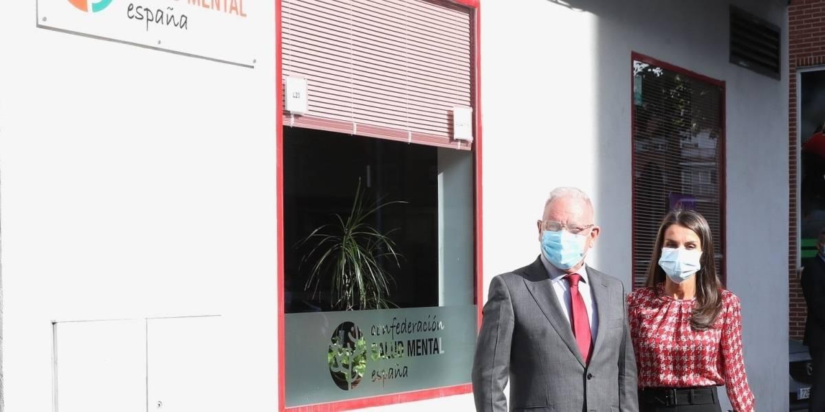 Letizia.- La Reina visita a la Confederación de Salud Mental para conocer su labor durante la pandemia