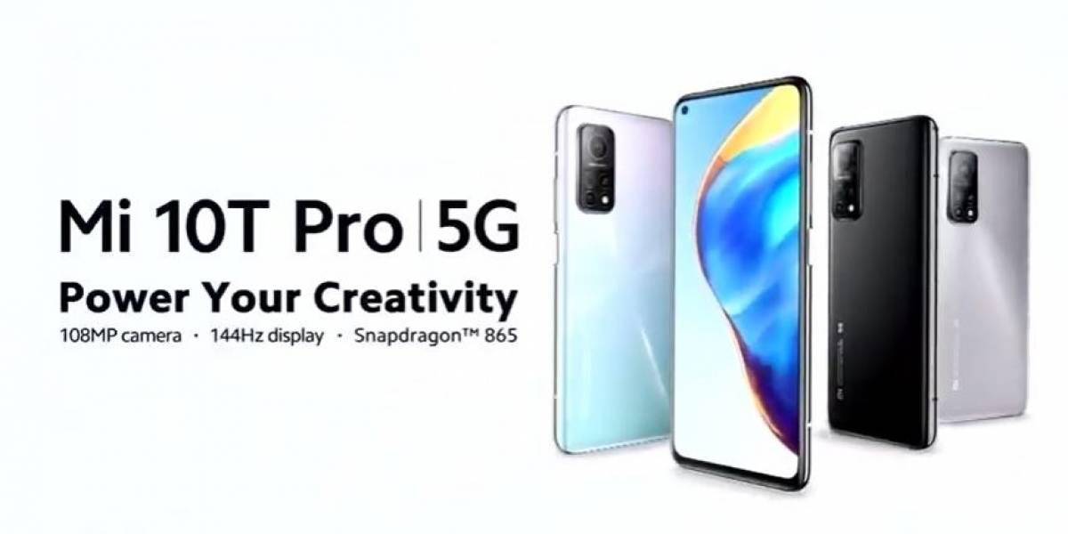 Portaltic.-Xiaomi presenta su serie de teléfonos Mi 10T con tasas de refresco de hasta 144Hz, 5G y batería de hasta 5.000 mAh