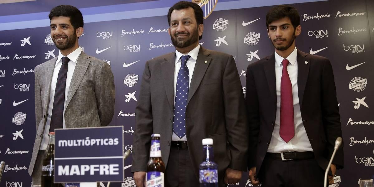Fútbol.- Al Thani se desvincula de las detenciones de los cuatro exdirectivos del Málaga