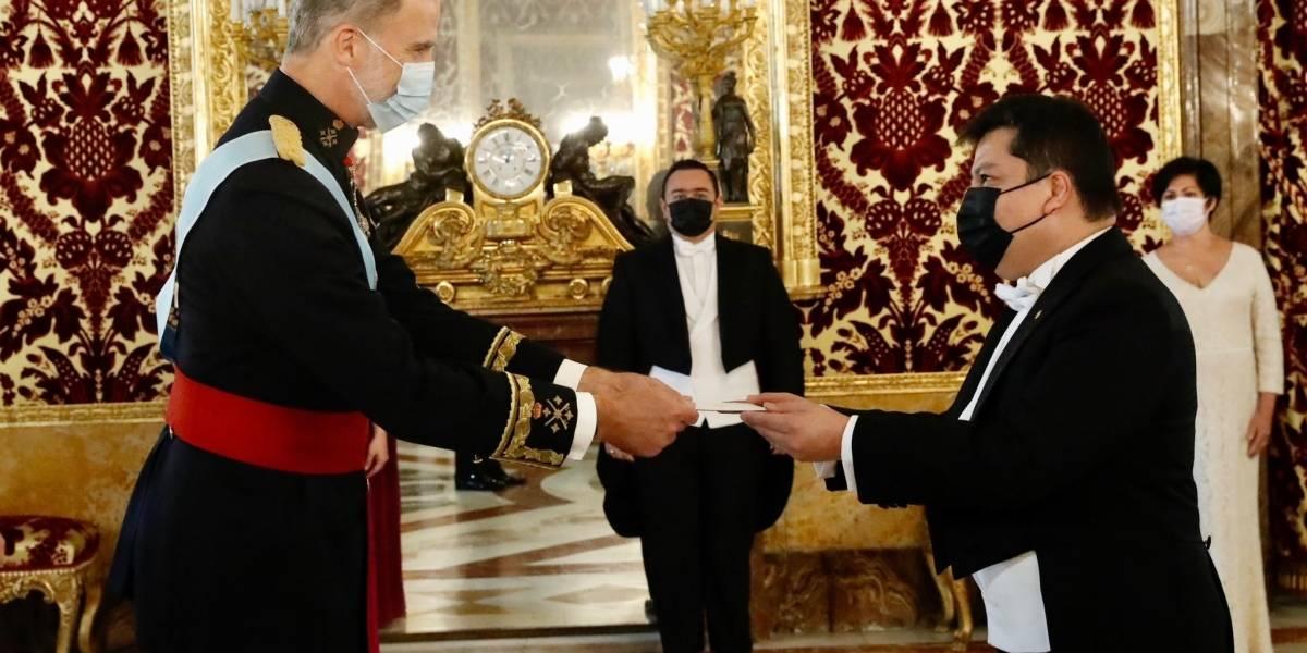 Rey Felipe.- La ceremonia de credenciales de embajadores vuelve al Palacio Real