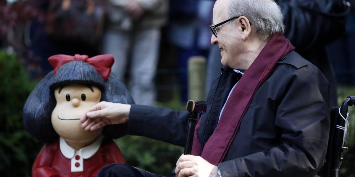 VÍDEO: Argentina.- Fallece 'Quino', el creador de Mafalda