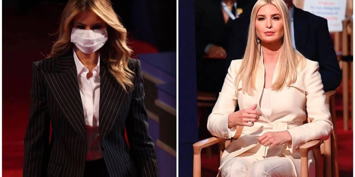 Trump Squad: Así de empoderadas lucieron Melania e Ivanka Trump en el debate presidencial