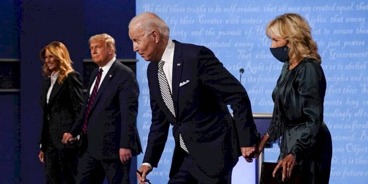 ¿Te perdiste el debate Trump y Biden? Esto fue lo más destacado