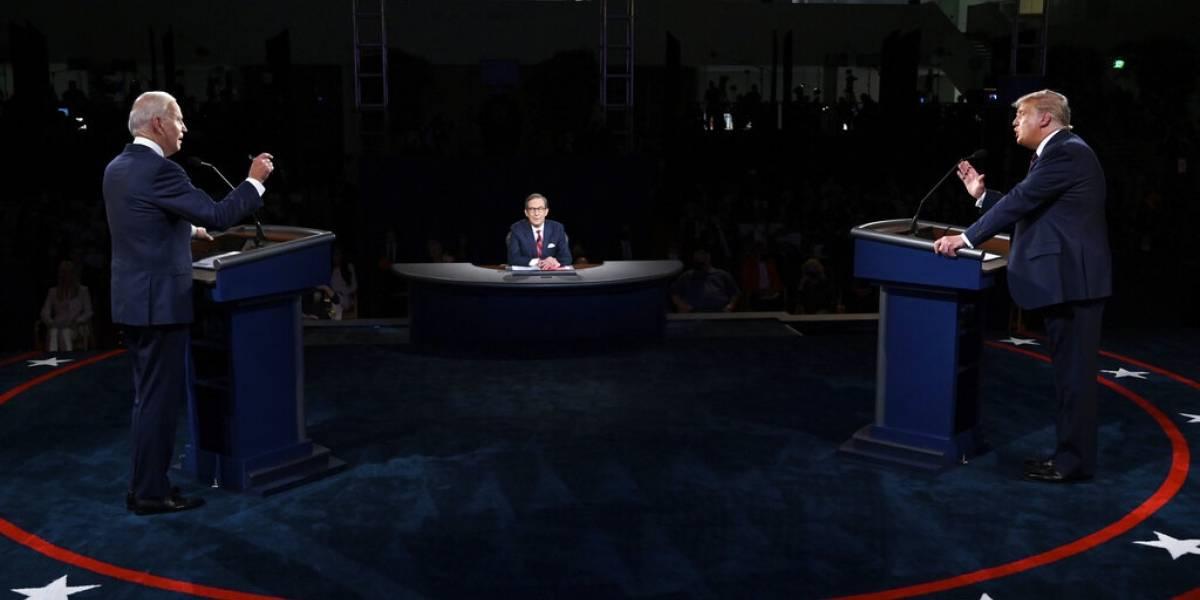 Estados Unidos modificará debates tras caótico encuentro entre Donald Trump y Joe Biden