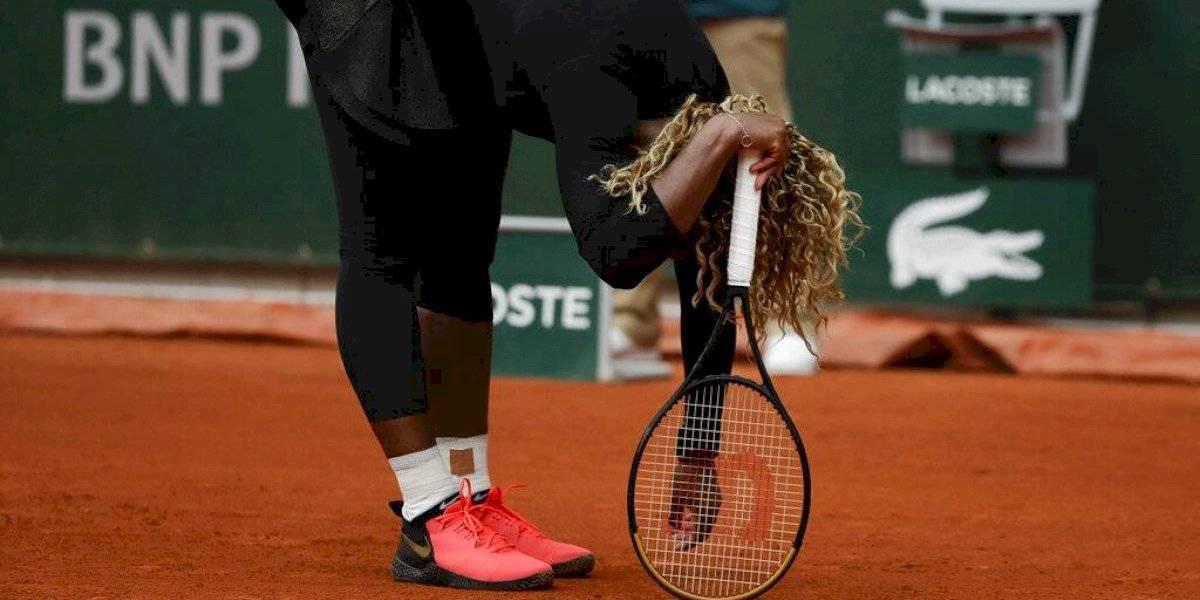 Serena Williams deja Roland Garros por lesión