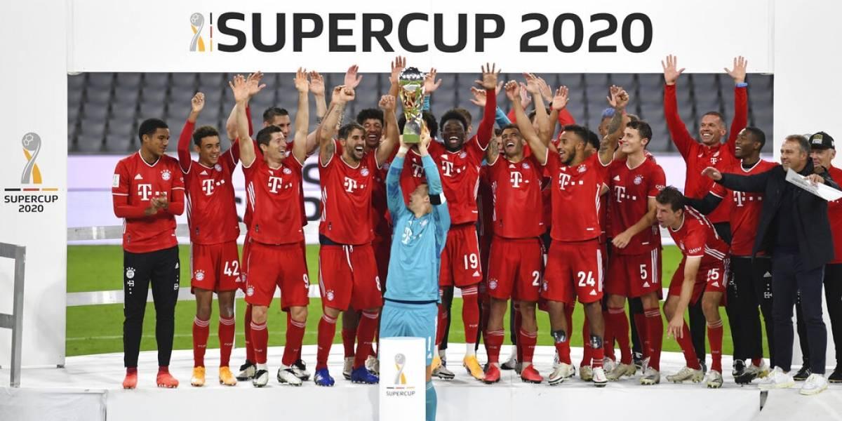 Otra más del Bayern Múnich: ahora ganó la Supercopa alemana