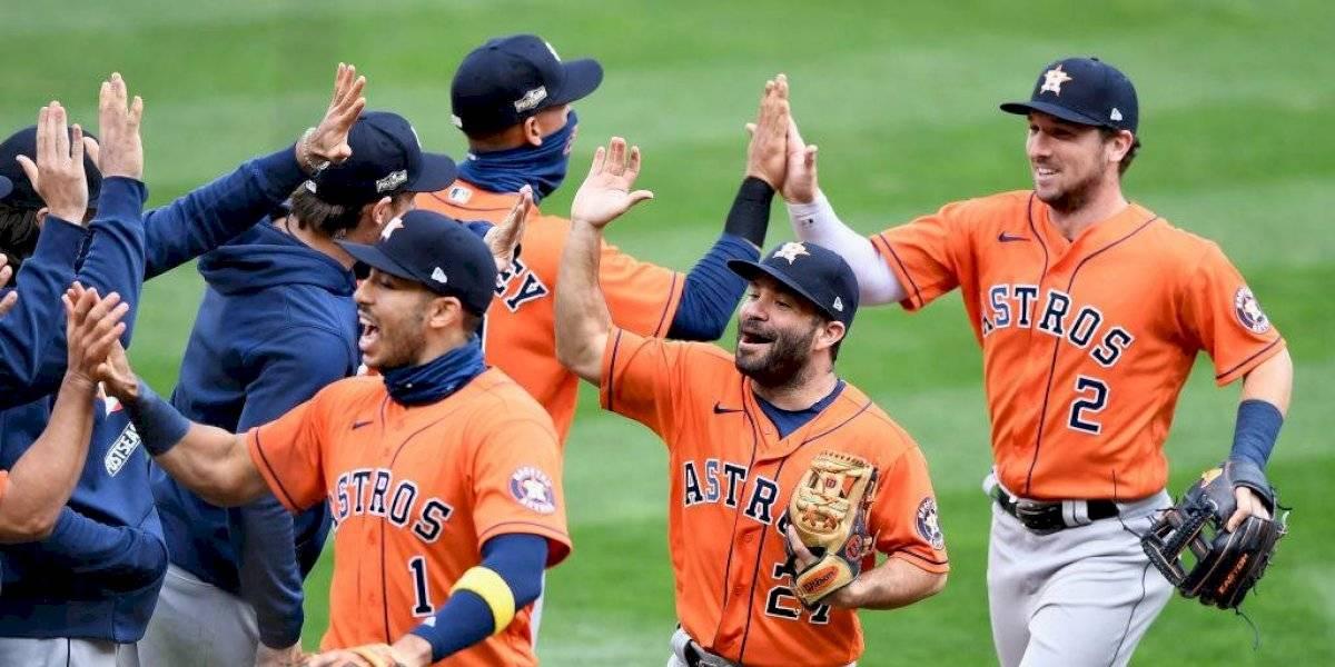 Astros avanzan a la serie divisional; Twins suman 18 derrotas seguidas en playoffs