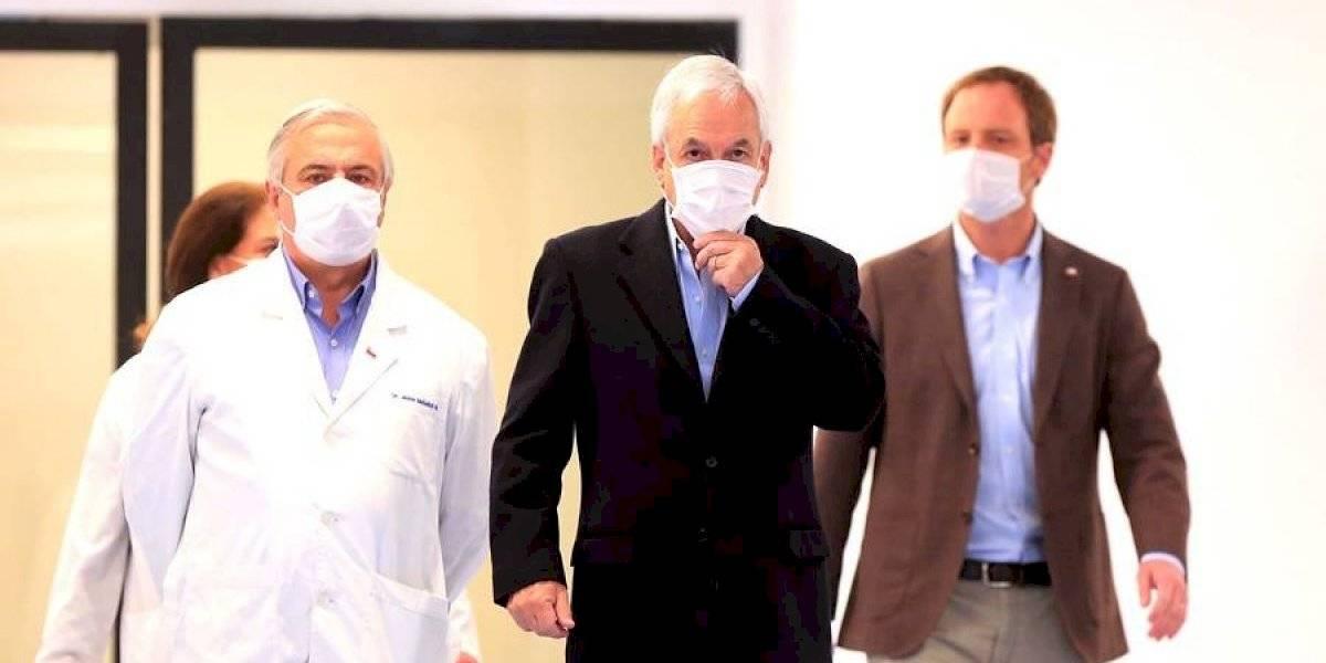 """""""Diseminación imprudente de gérmenes patógenos"""": Jadue amplía su querella contra Piñera, Mañalich, Daza y Zúñiga por las muertes en la pandemia"""