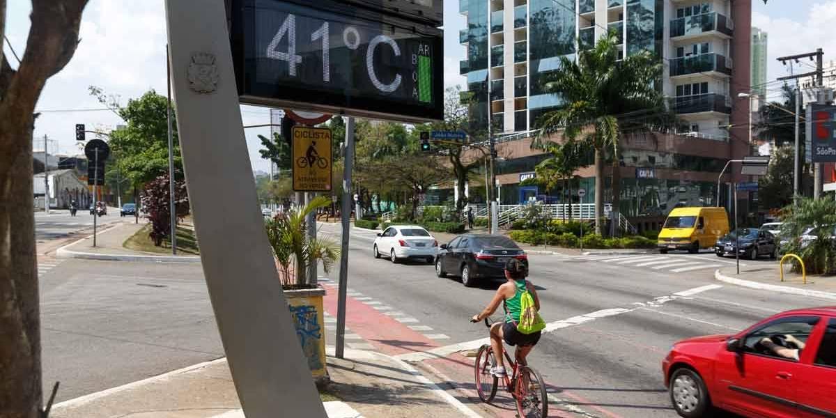 Temperaturas chegam a 40°C com onda de calor no Brasil