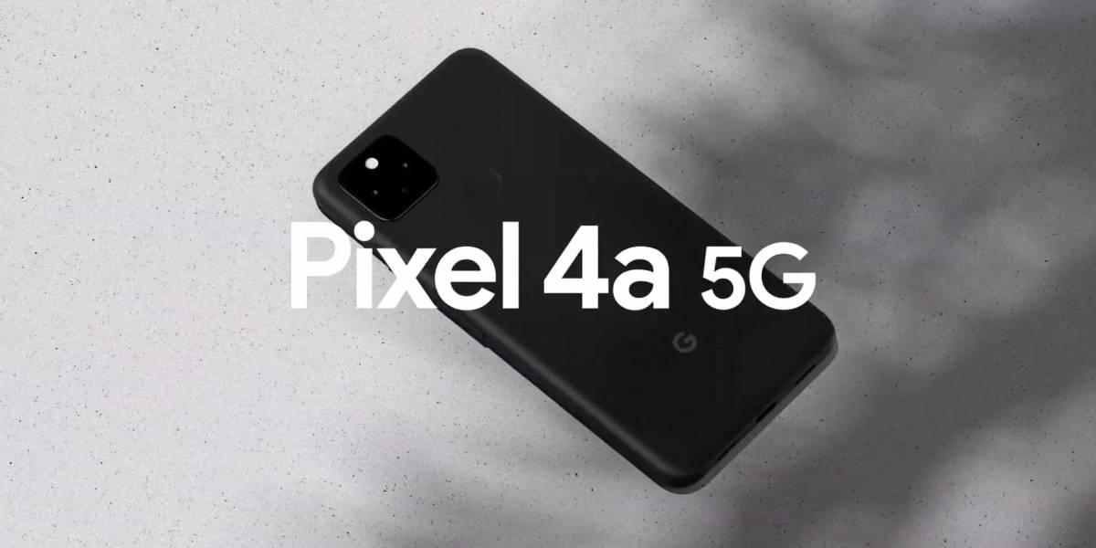 Google presenta el Pixel 4a 5G, su celular más económico con este tipo de conectividad