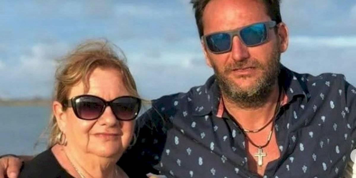 """""""Ya despertó"""": Daniel Fuenzalida informa que su madre se está recuperando del coronavirus"""