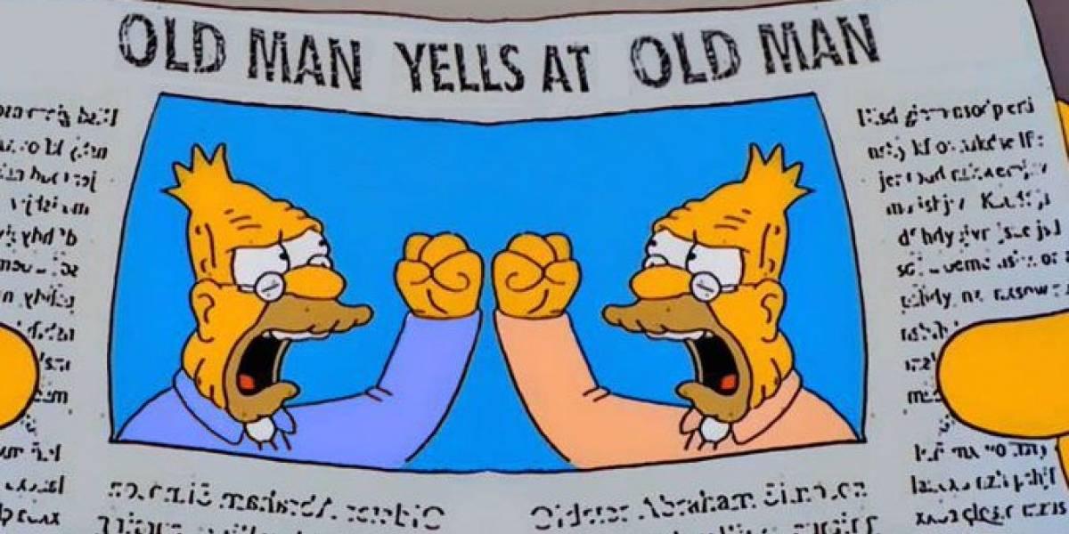 """De esta forma """"Los Simpson"""" predijeron debate Trump vs. Biden"""