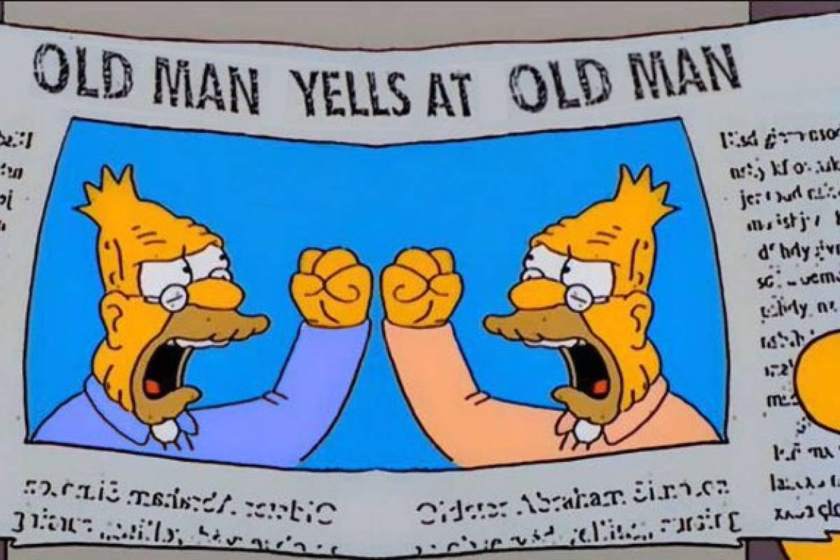 """De esta forma """"Los Simpson"""" predijeron debate Trump vs ..."""