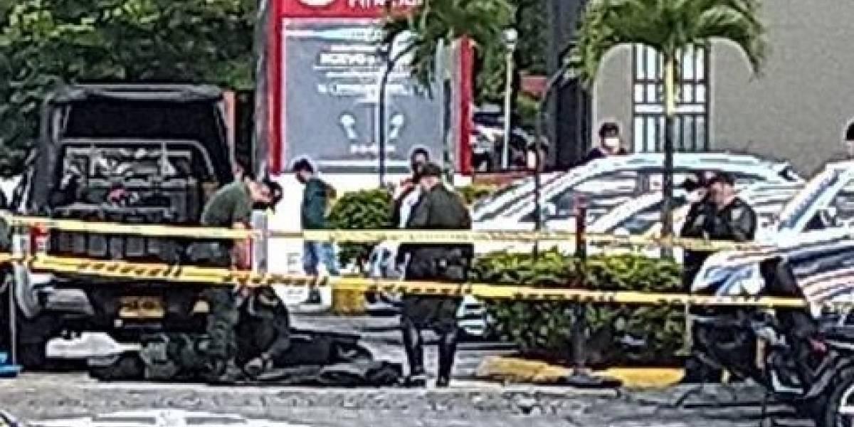 Descubren una granada dentro de un paquete devuelto a una empresa de correos en Medellín