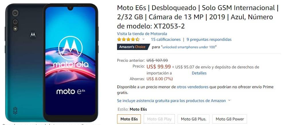 Motorola Precios
