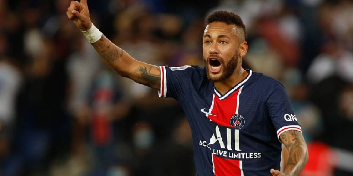 """""""Chino de mierda"""", el insulto de Neymar a un jugador del Marsella"""