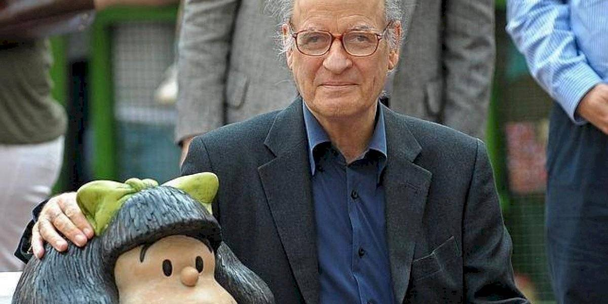 Fallece el reconocido dibujante Quino, creador de Mafalda