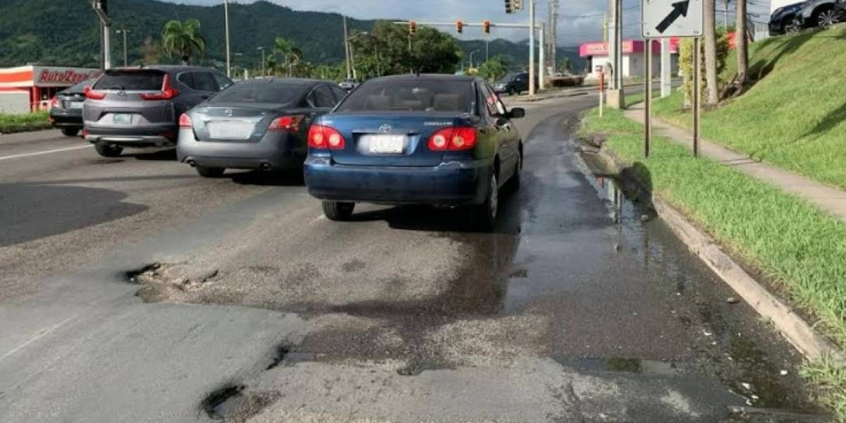 """Denuncian que """"el DTOP se olvidó de las carreteras estatales en Cayey"""""""