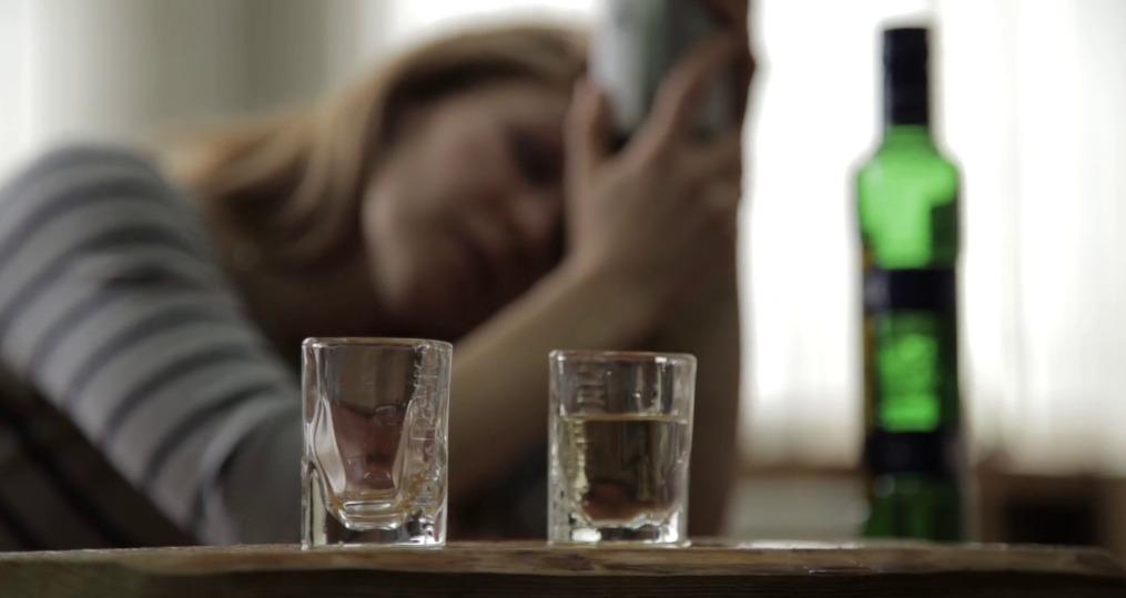 Alcohol entre las mujeres.