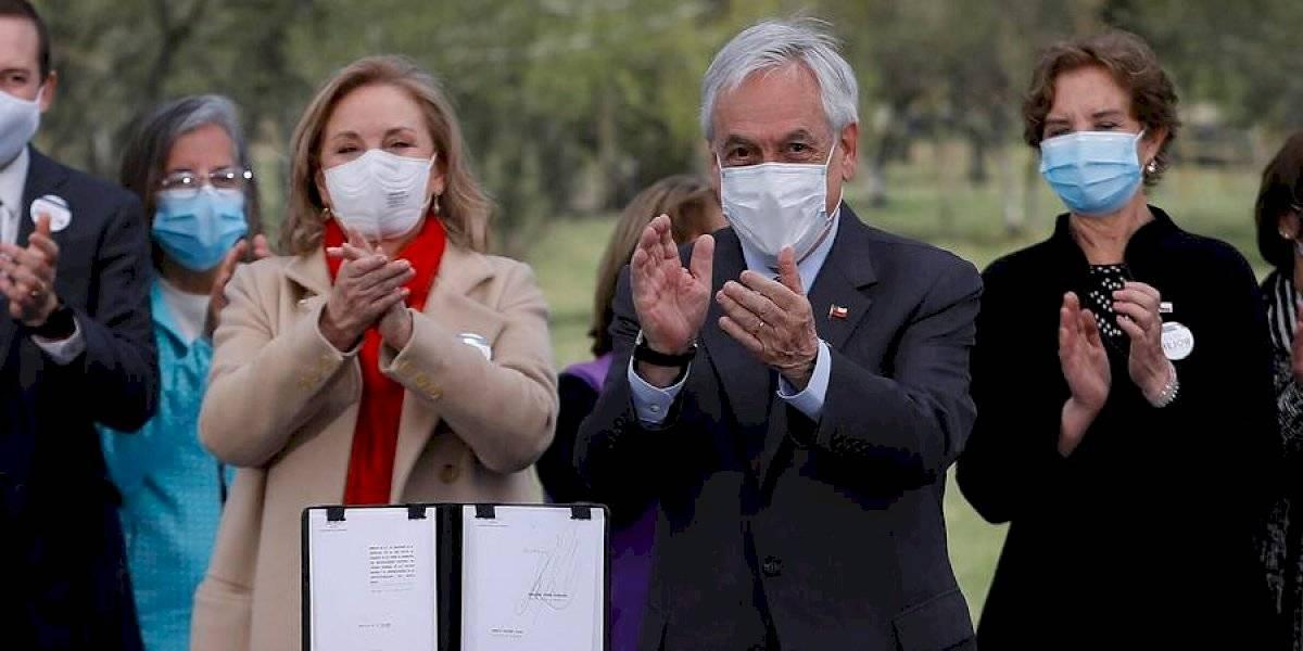 Sebastián Piñera cita a Ricardo Arjona al presentar proyecto de Ley de Envejecimiento Positivo