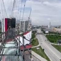 Crean puente colgante de cristal con 61 metros de altura en Puebla