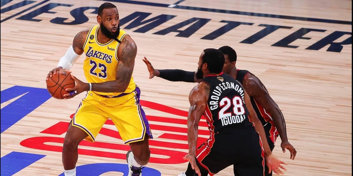 Los Ángeles Lakers vs Miami Heat | EN VIVO ONLINE GRATIS Link y dónde ver en TV Final de la NBA 2020: Juego 2, canal y streaming