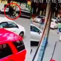 Taxista atropella a ciclista en la alcaldía Venustiano Carranza