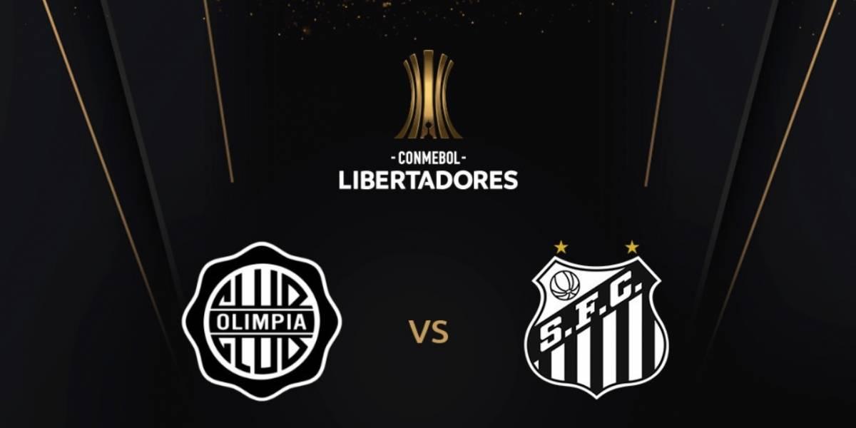 Olimpia x Santos pela Copa Libertadores: Onde assistir o jogo ao vivo