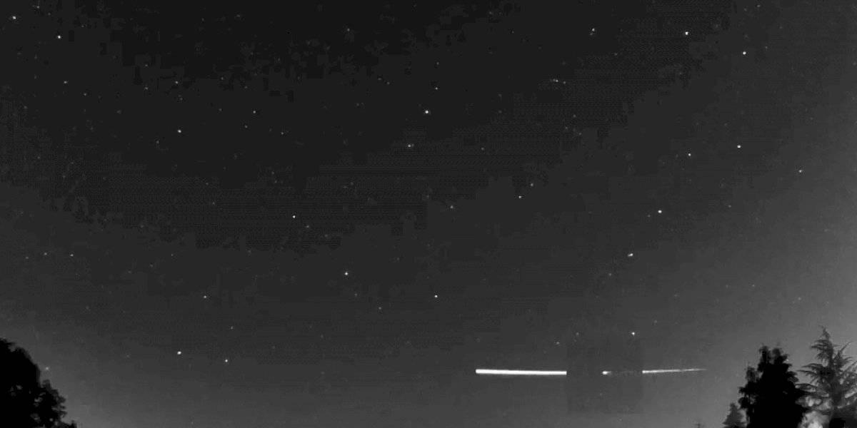 Impactante: meteorito golpeó atmósfera de la Tierra y regresó al espacio