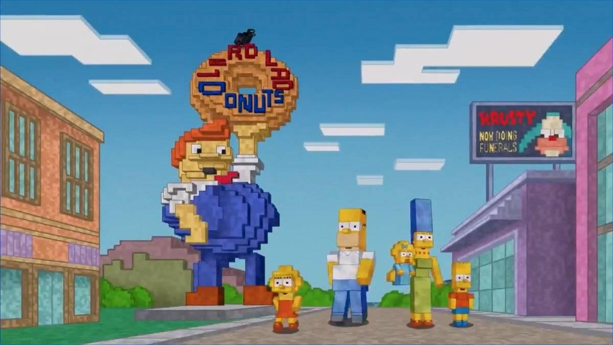 Minecraft Los Simpson
