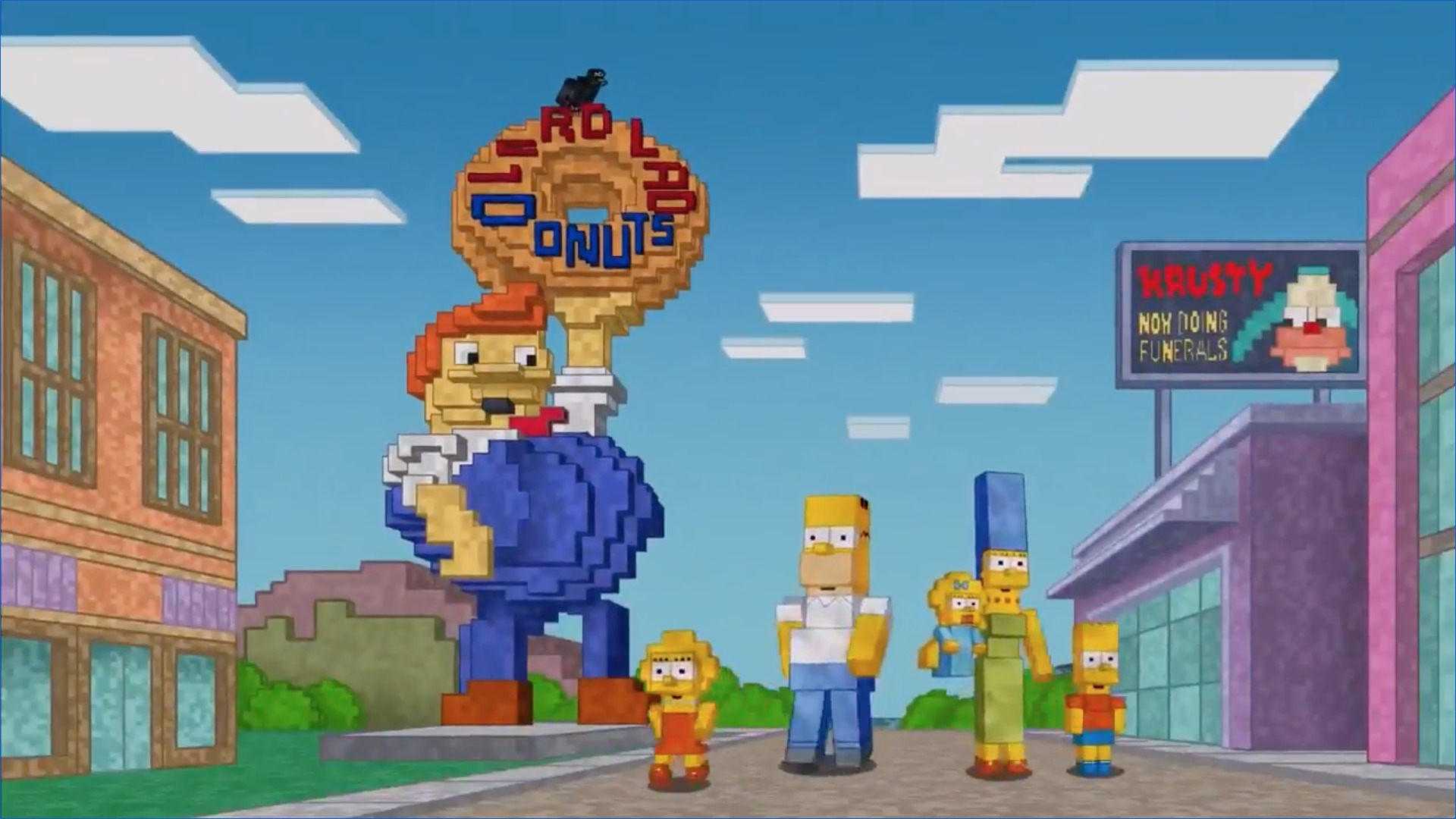 Minecraft Los Simpson