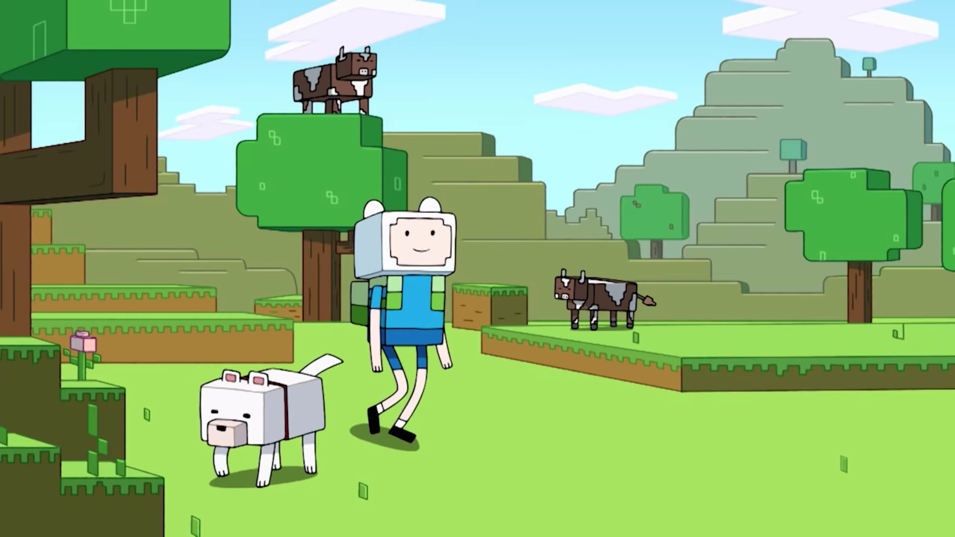 Minecraft Adventure Time