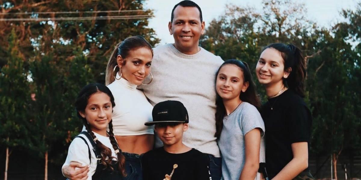 Así es la relación de Emme, la hija de JLo y Marc Anthony, con Alex Rodríguez