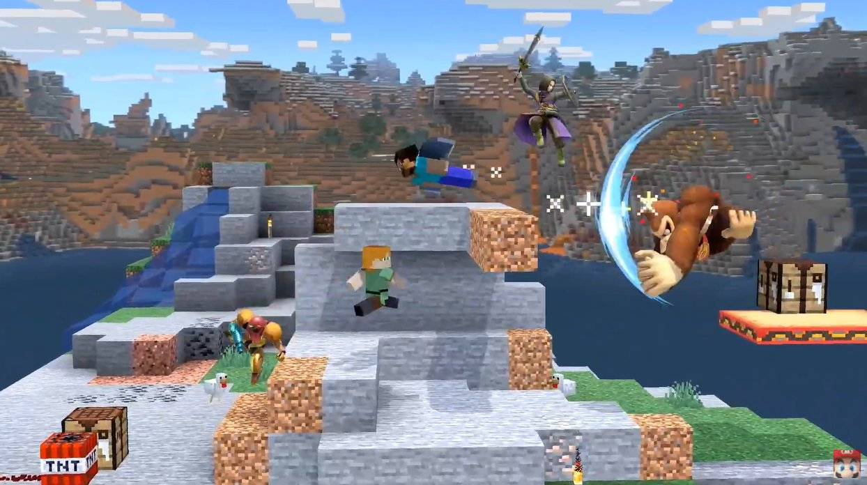 Super Smash Bros Ultimate Minecraft
