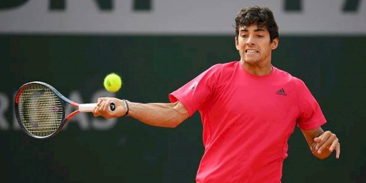 Cristian Garin vence a Polmans y se instala por primera vez en tercera ronda de Roland Garros: se enfrentará al ruso Khachanov
