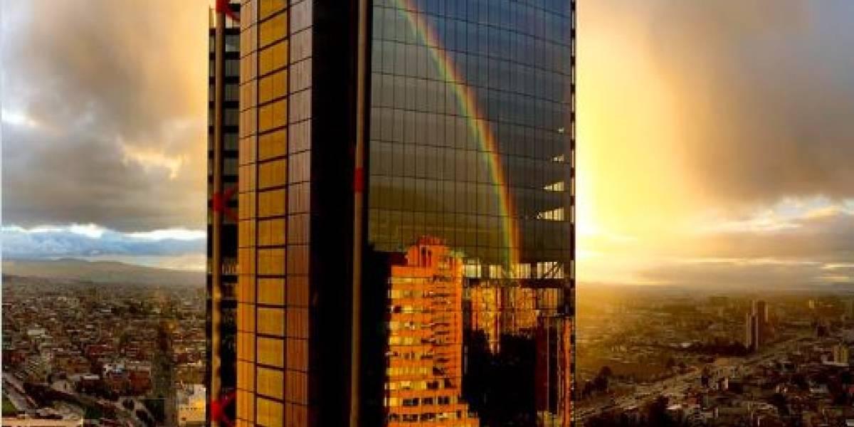 Las mejores fotos que dejó el arcoíris que decoró el atardecer de este miércoles en Bogotá