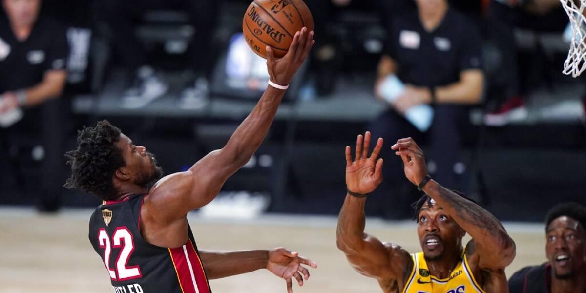 El Heat no da por perdida la serie ante los Lakers