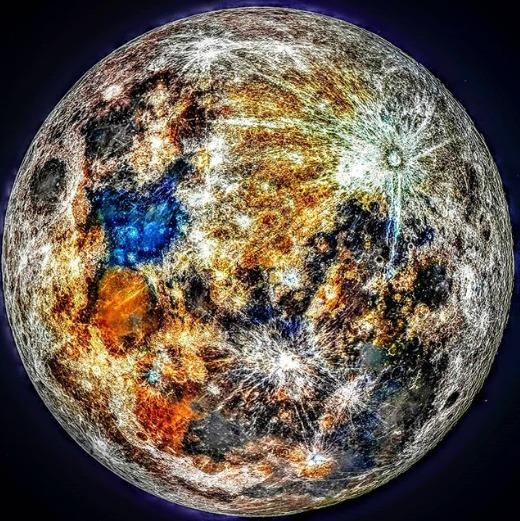 Colores de la Luna.