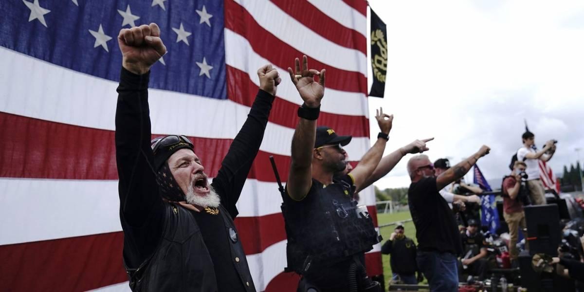 ¿Quiénes son los Proud Boys? El grupo que no condenó Trump en el debate