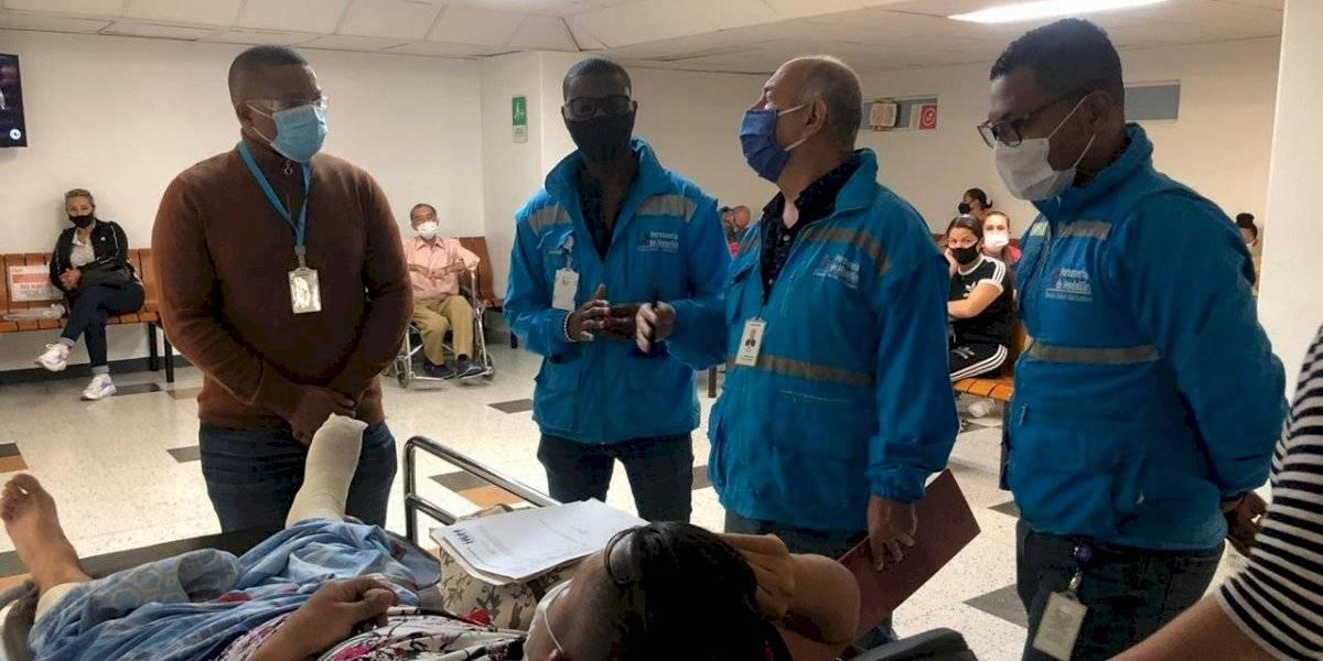 """""""A reventar"""" así están las salas de urgencias en Medellín según la Personería"""