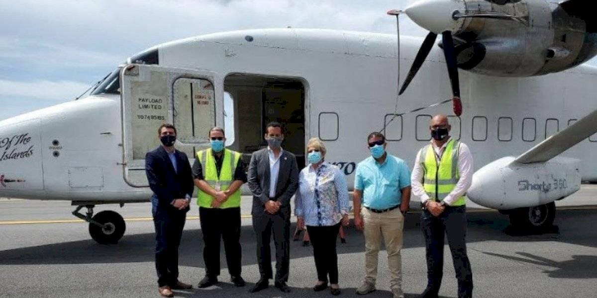 Inauguran ante-pista Alpha en el aeropuerto de Ponce