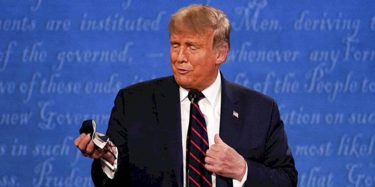 Dos días antes de dar positivo por coronavirus: Donald Trump se burló de Joe Biden por usar mascarilla