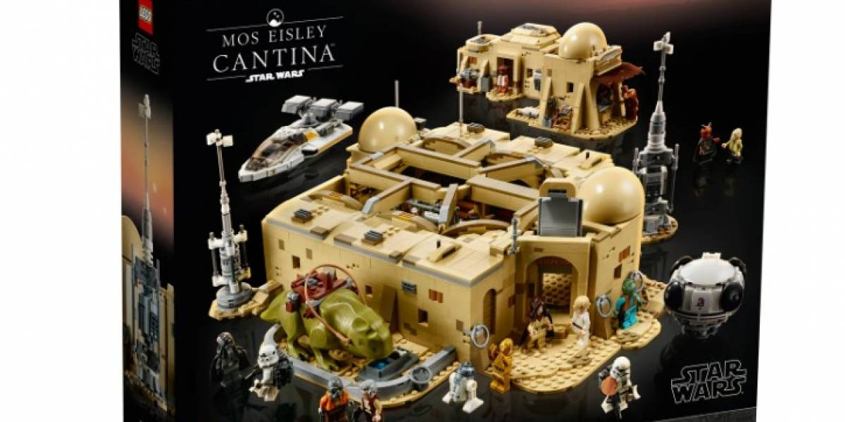 Star Wars: La cantina de Mos Eisley en versión LEGO tiene más de 3 mil piezas