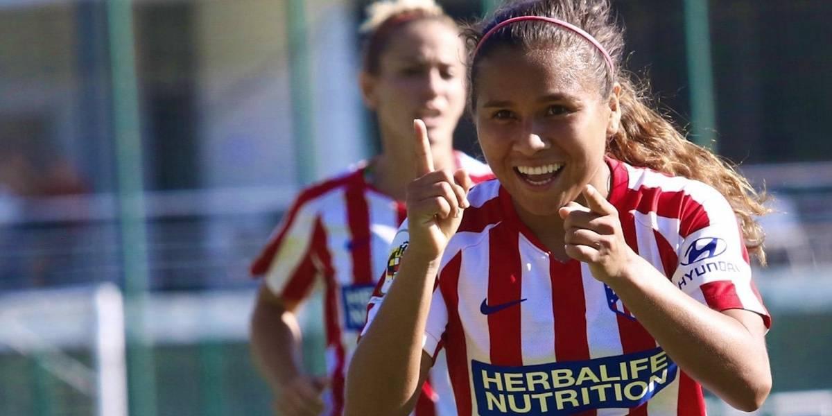 Leicy Santos, jugadora colombiana del Atlético de Madrid, comienza su temporada soñada