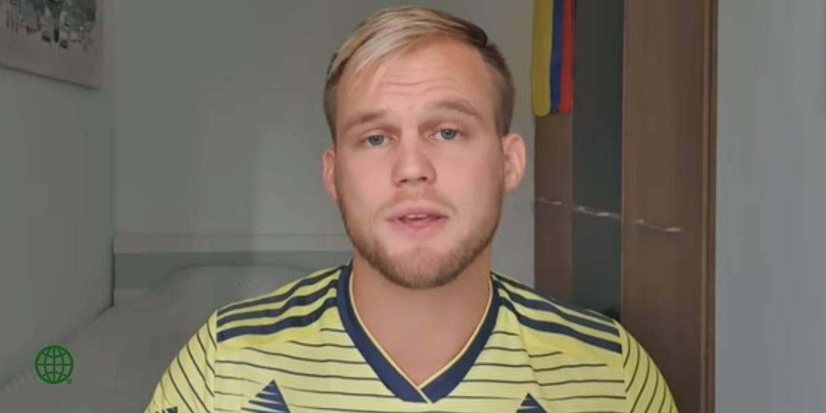 La razón por la que la Cancillería rechazó la visa del youtuber alemán Dominic Wolf