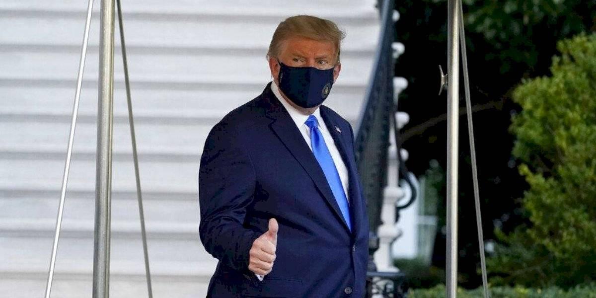 Dan autorización de urgencia a fármaco usado por Trump contra Covid-19
