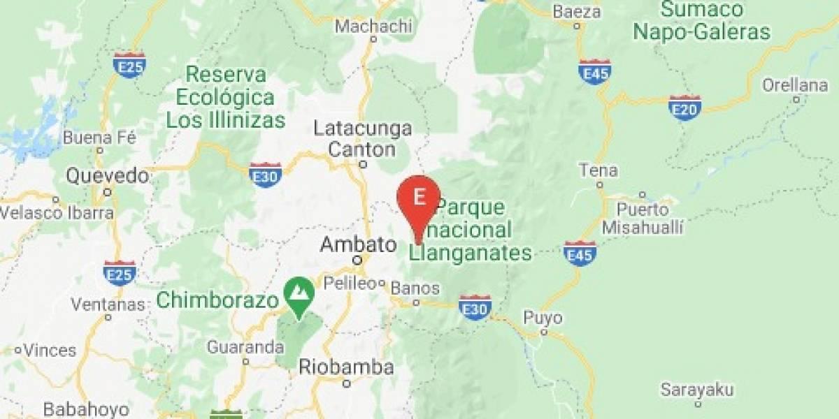 Sismo en Píllaro se registró la noche de este 2 de octubre