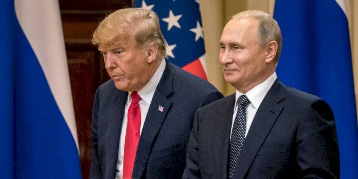 """""""Buen humor"""": el mensaje que Putin le envió Trump tras su positivo por covid-19"""